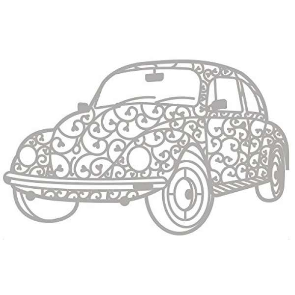Delicate Die Vintage Car 1St.