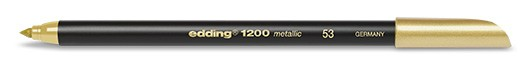 edding 1200 metallic colorpen - 053 Gold Metallic