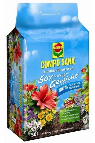 Compo Sana Qualitäts-Blumenerde 50L