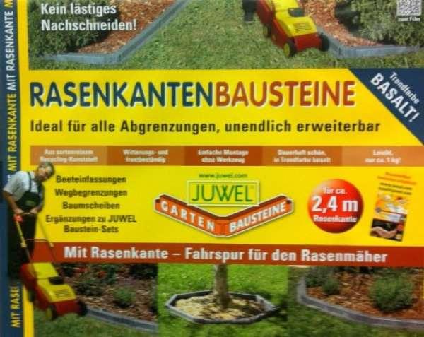 Juwel Gartenbausteine Rasenkanten Bausteine Basalt