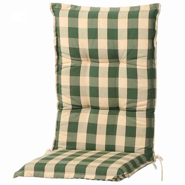 Auflage für Sessel grün hoch 120x50x9 cm