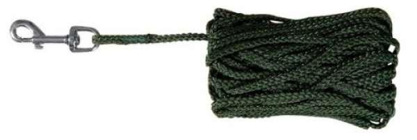 Trixie Schleppleine grün, 15 m/ø 5 mm
