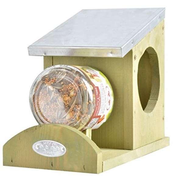 Erdnussbutter Haus für Eichhörnchen