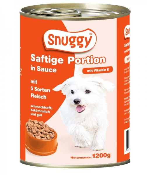 snuggy 1200g 5 Fleischsorten