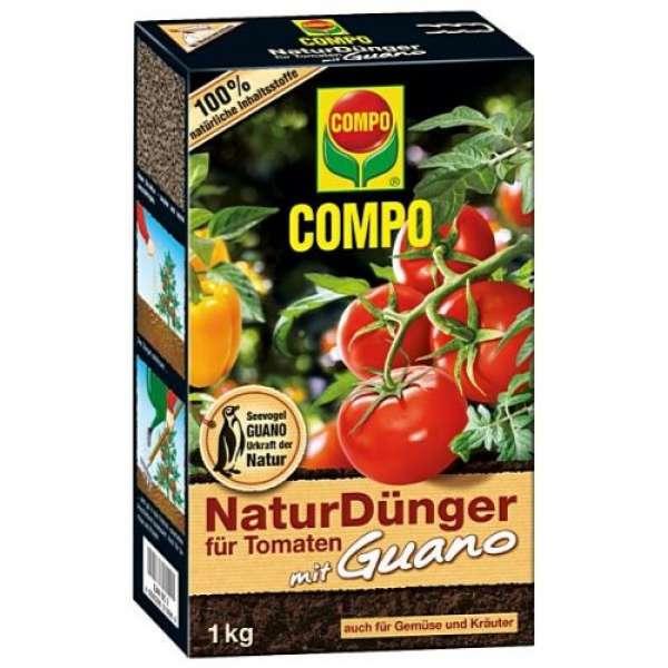 COMPO Bio Naturdünger für Tomaten mit Guano 1kg
