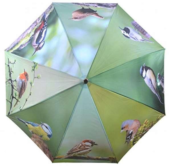 Esschert Design Regenschirm Vögel
