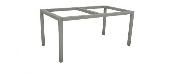 Tischgestell 160x90cm Alu Graphit
