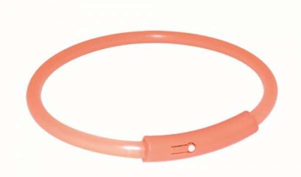 Trixie Flash Light Band orange, L: 50 cm
