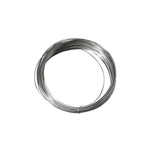 Silberdraht +Kupferkern D0,8mmx06m