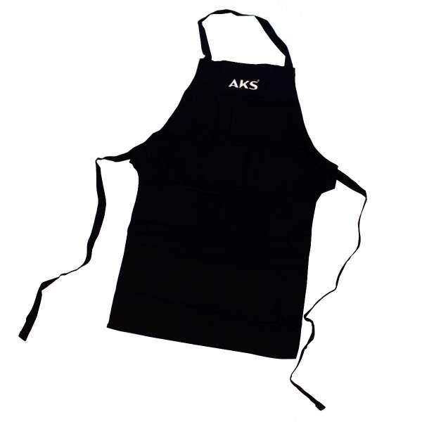 AKS Grillschürze, schwarz