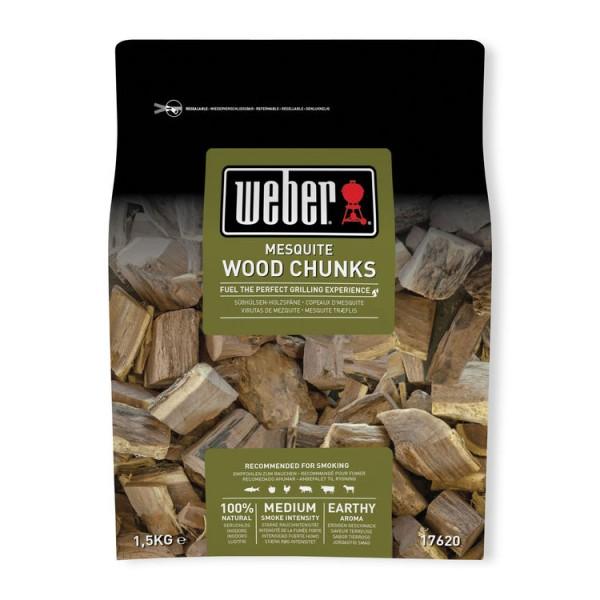 Weber Wood Chunks Mesquite 1,5Kg