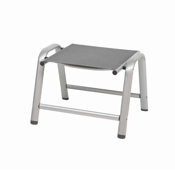 Hocker Cirrus silber/anthrazit