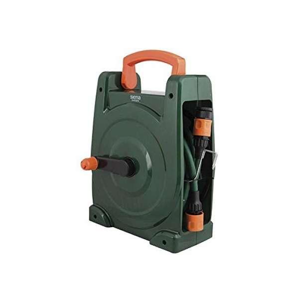 Siena Garden 399891 Schlauchtrommel tragbar,inkl.Schlauch 10m