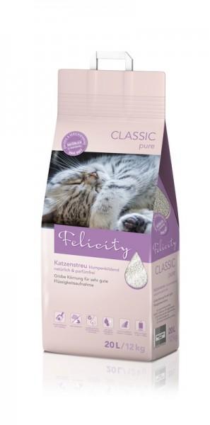 Katzenstreu Felicity CLASSIC pure 12kg