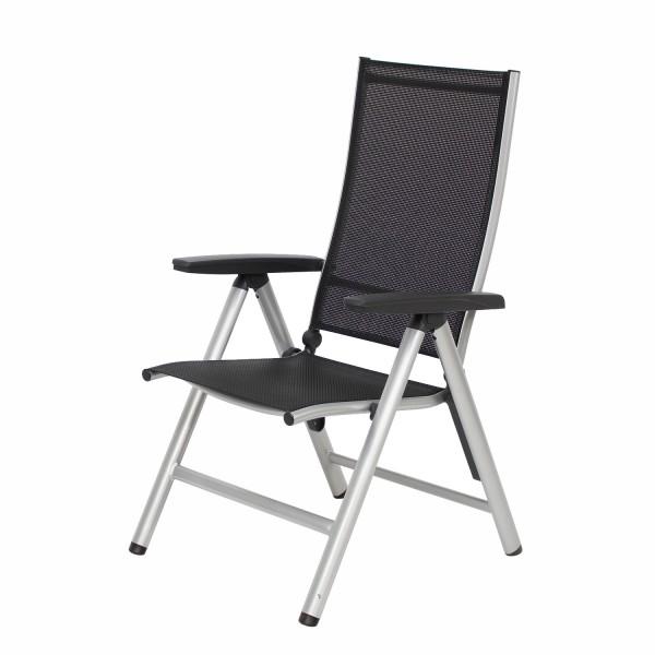 Sessel Manhattan silber/schwarz #