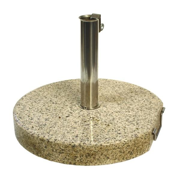 Schirmfuss 40kg Granit sand