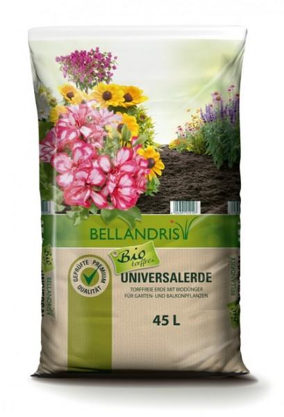 Bellandris Bio Universalerde torffrei 45L