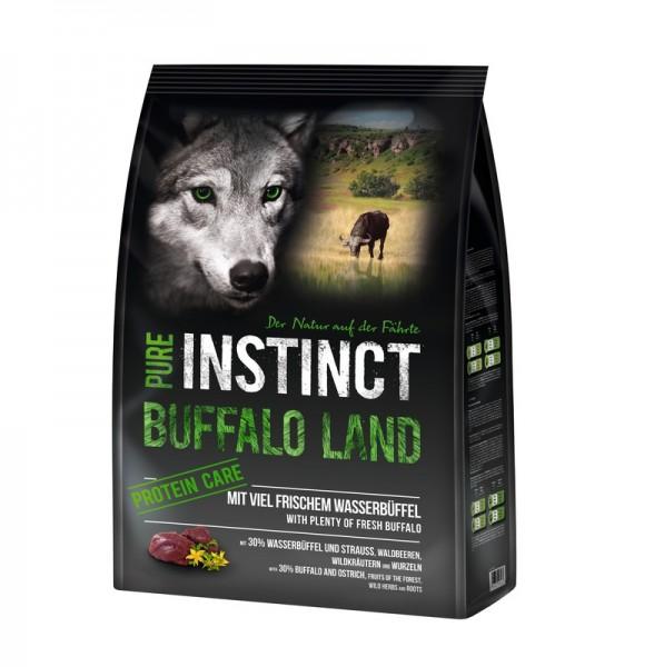 PURE INSTINCT 1kg Wasserbüffel und Strauss