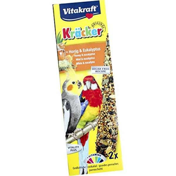 Vitakraft Kräcker Original Honig & Eukalyptus 2 Stück