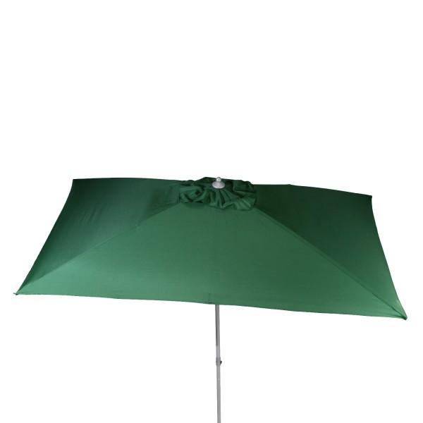 Schirm 3x2m dunkelgrün