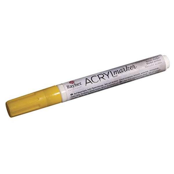 Acryl-Marker sonnengelb