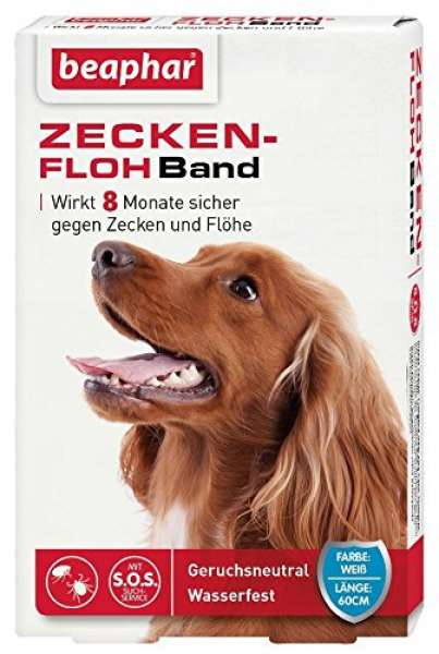 beaphar Zecken-Flohband Hund 60cm