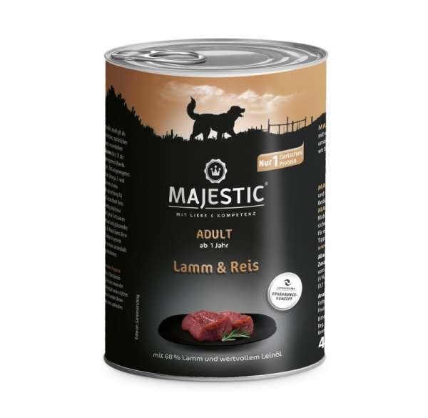 MAJESTIC 400g Lamm und Reis