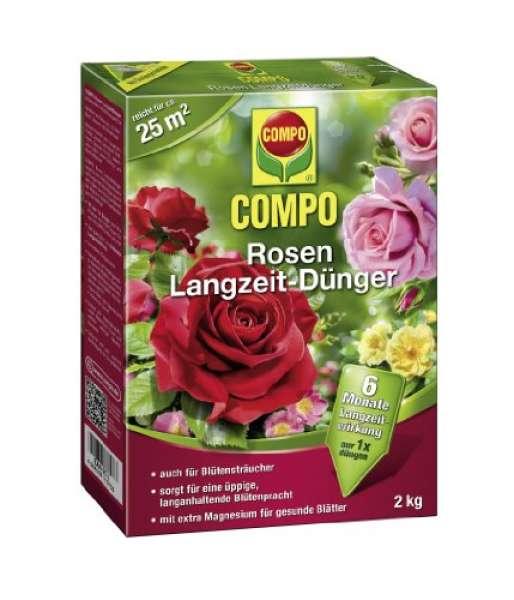 COMPO Rosen Langzeit Dünger 2 kg