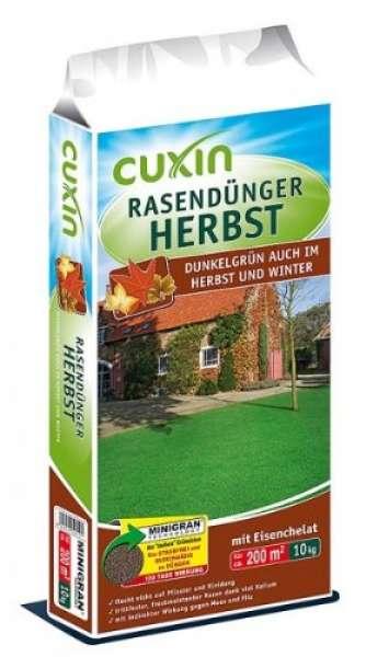 Herbst Rasendünger 10,0kg Cuxin