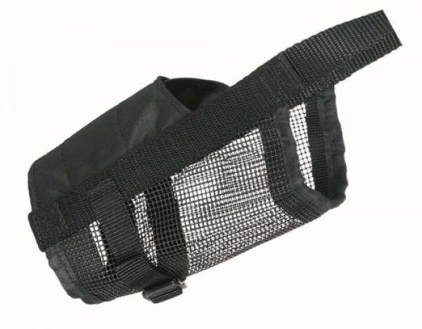 Trixie Maulkorb mit Netzeinsatz Polyester S-M, 18-39 cm