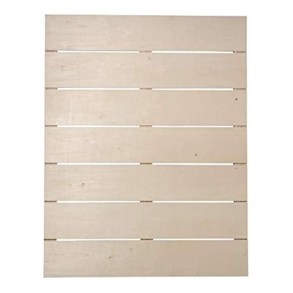 Holz Lattenrahmen 40x50,2x0,7cm +2Haken