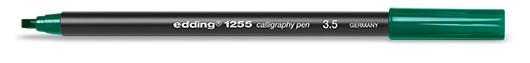 edding 1255 calligraphy pen 3.5 - 025 Flaschengrün