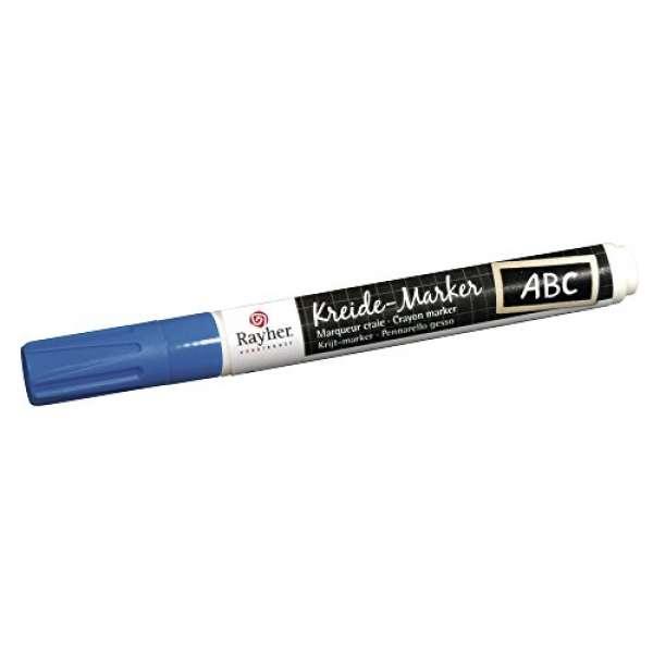 Kreide-Marker azurblau