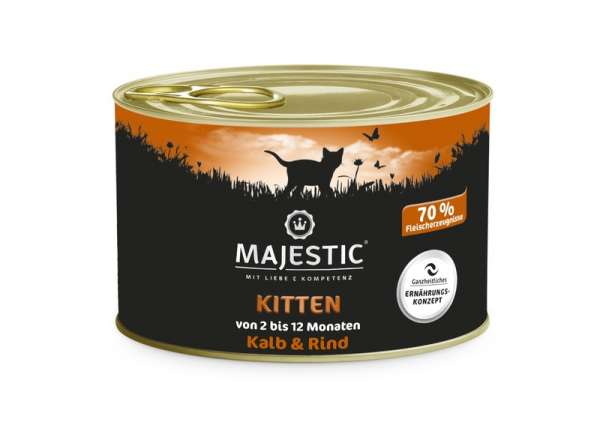 SA MAJESTIC 200g Cat Kitten Rind