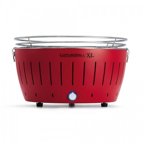LotusGrill Kohlegrill XL Feuer-Rot