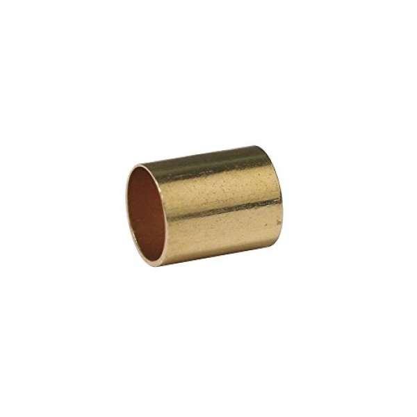 Endkappen für Lederriemen, ø 3 mm innen, 4 Stück, gold