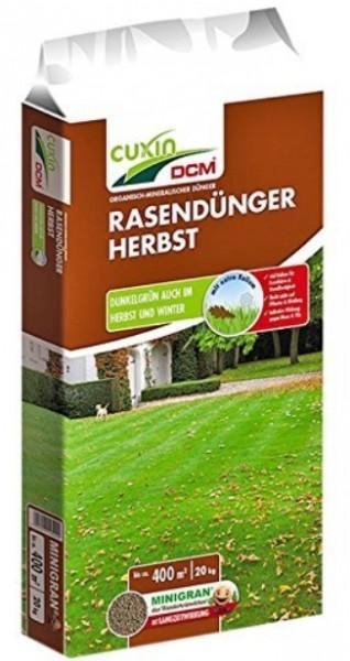 CUXIN DCM Rasendünger Herbst 20kg