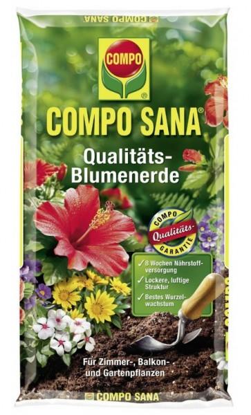 Compo Sana Qualitäts Blumenerde 30L