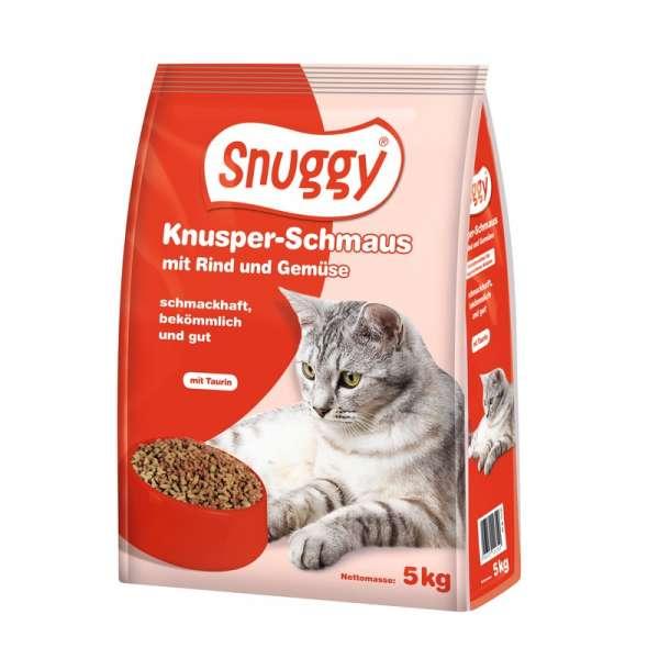 snuggy 5kg Knusper-Schmaus mit Rind und Gemüse