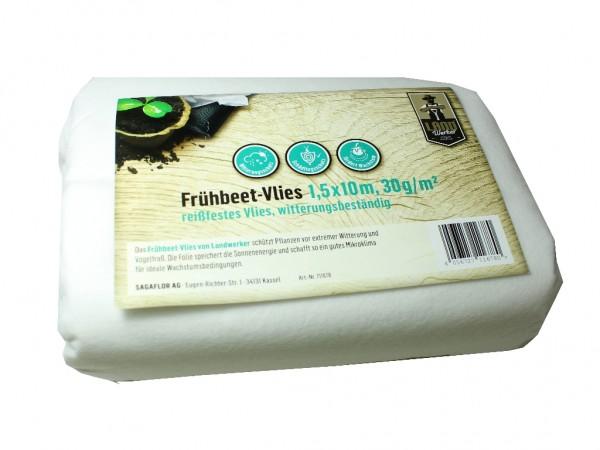 Landwerker Frühbeet-Vlies 1,5x10m 30g qm