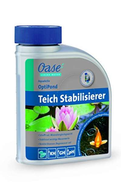 Oase Wasseraufbereiter AquaActiv OptiPond 500 ml, silber Biozid