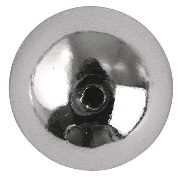 Plastik-Rud 4mm silber