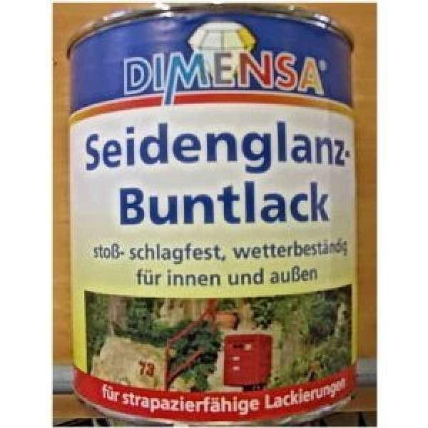 750 ml Seidenglanzlack / Buntlack Moosgrün Ral.6005