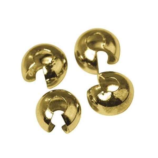 Abdeckperlen gold 4mm