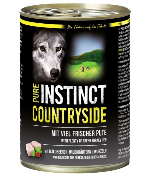 PURE INSTINCT COUNTRYSIDE 400g