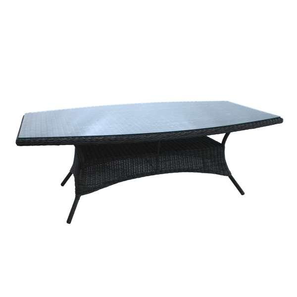 Tisch Broadway 220x120cm light charcoal