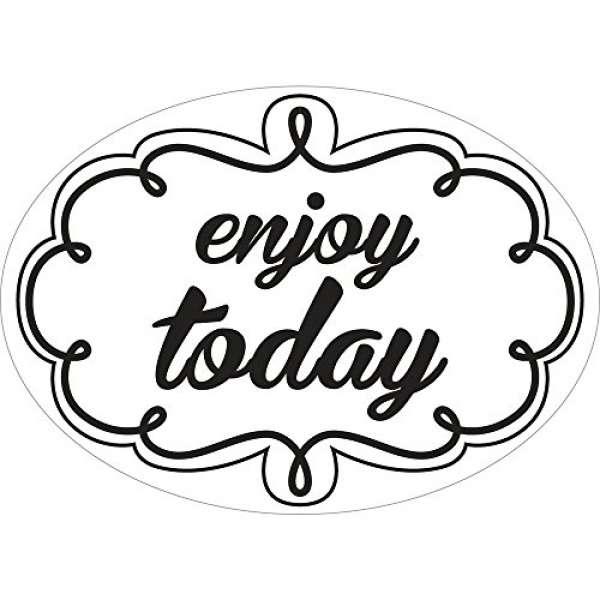 "Labels ""enjoy today"""