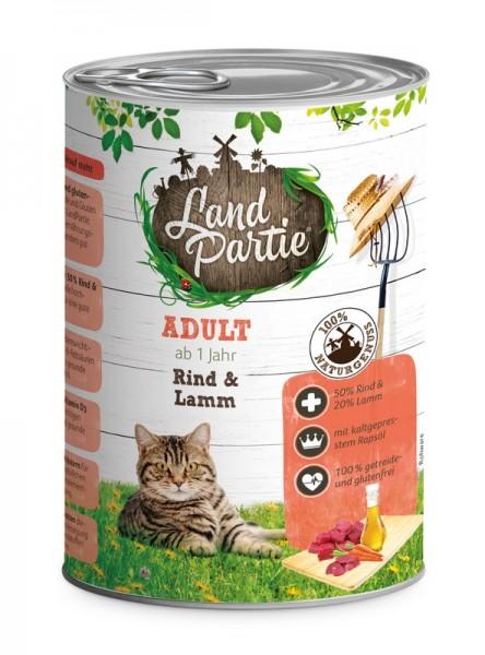 LandPartie ADULT - Rind&Lamm - 400g