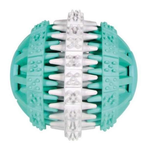Trixie Denta Fun Mintfresh Ball, Naturgummi ø7 cm