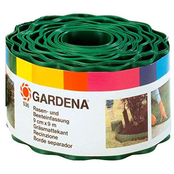 Beeteinfassung grün 09cm hoch 9m lang